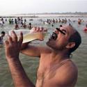 ガンジス川の奇跡、水にコレラ菌を死滅させる滅菌作用